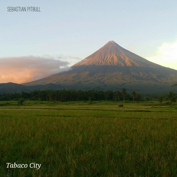 Mayon View from Tabaco City