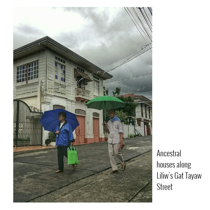 Ancestral Houses along Liliw's Gat Tayaw Street